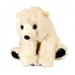 Polar Bear Baby Plush Stuffed Toy by Wild Republic