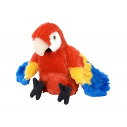 Macaw Scarlet Plush Stuffed Toy by Wild Republic