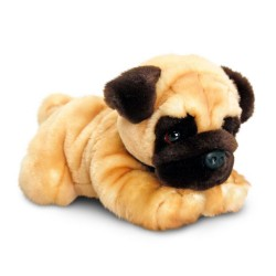Pug Plush Stuffed Toy Reggie  by Keel Toys