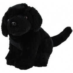 Black Labrador Plush Toy Dog Sharah