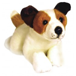 Jack Russell Sparky plush toy by Bocchetta Plush Toys