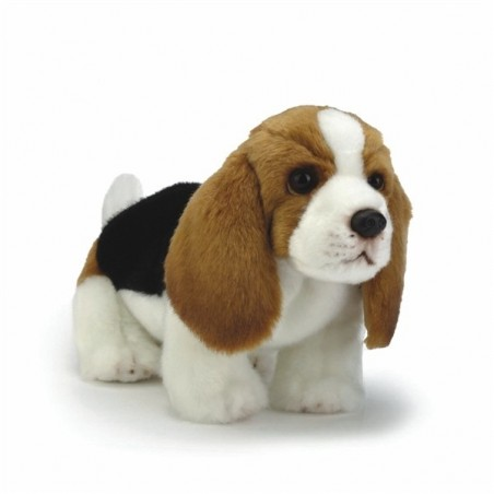 Basset Hound PlushToy Dog by Nat and Jules