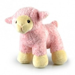 Sheep Lamb Peepers Pink Baby Safe 20cm