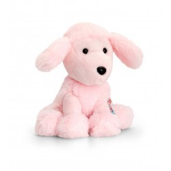 Poodle Pink 14cm Pippins by Keel Toys