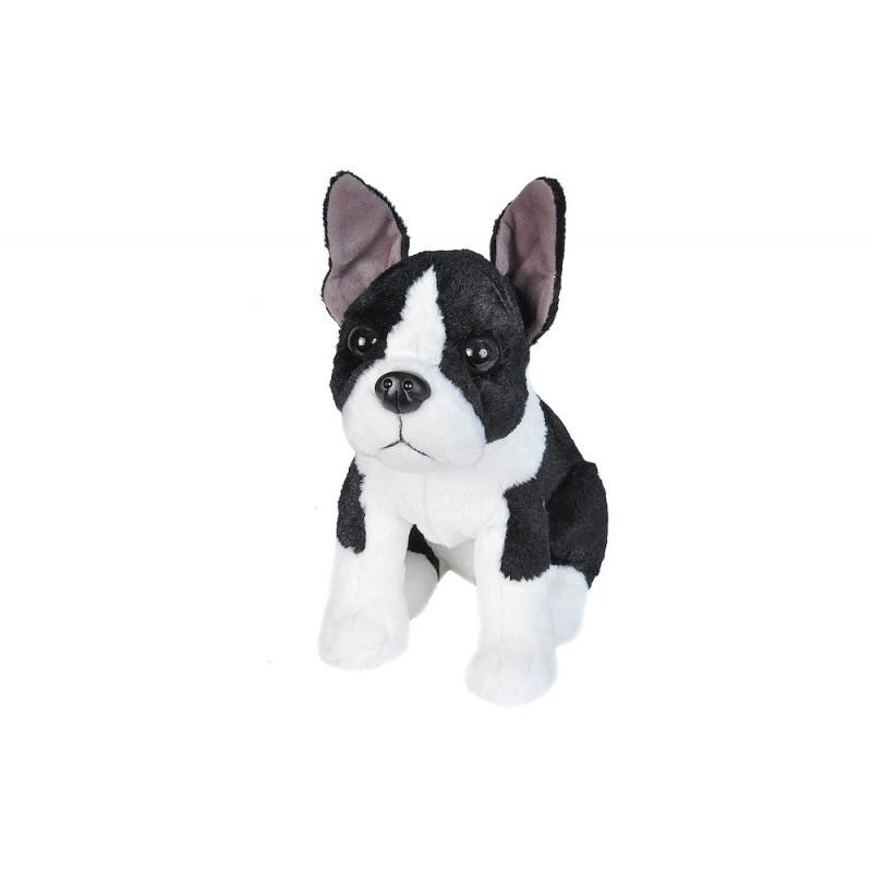 Boston Terrier Plush Stuffed Dog