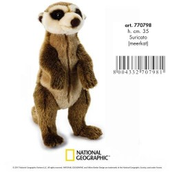 Meerkat Plush Stuffed Toy by National Geographic