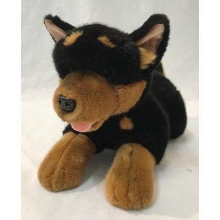 Australian Kelpie dog Gadget soft toy by Bocchetta Plush Toys