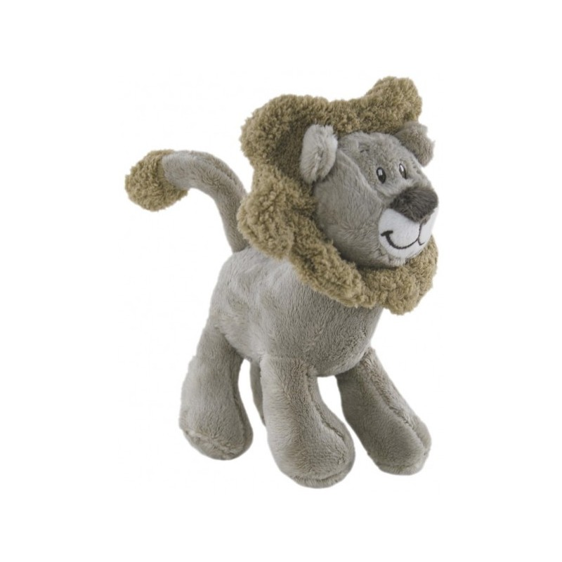 Lion Nursery Plush Toy by Elka with Rattle