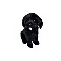 Yellow Labrador Darth plush toy by Bocchetta