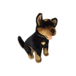 Australian Kelpie dog Rex by Bocchetta Plush Toys