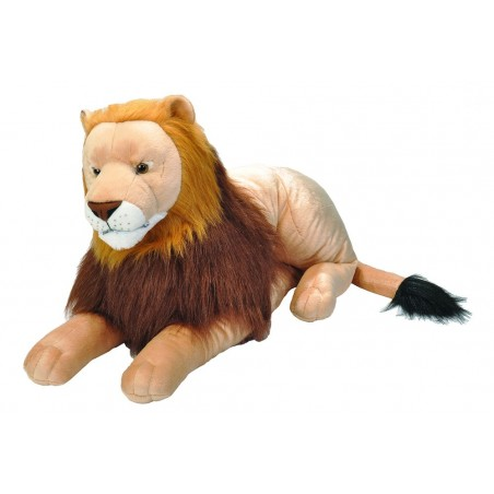 Lion Jumbo Cuddlekins Extra Large plush toy by Wild Republic