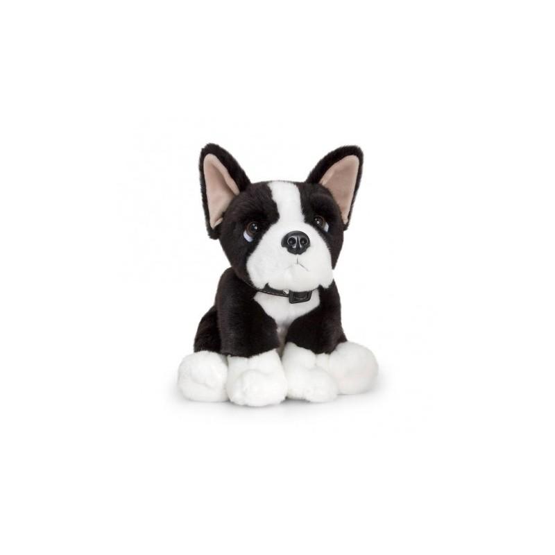 Boston Terrier Duke Plush Stuffed Toy by Keel Toys