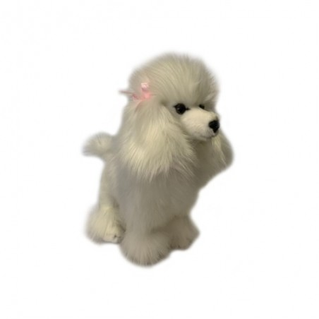 Poodle Romeo Plush Toy by Bocchetta Plush Toys
