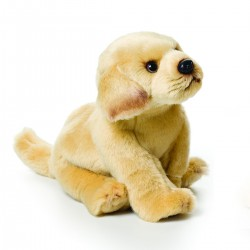 Yellow Labrador Small Plush Toy by Nat & Jules