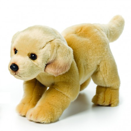 Yellow Labrador Large Plush Toy by Nat & Jules