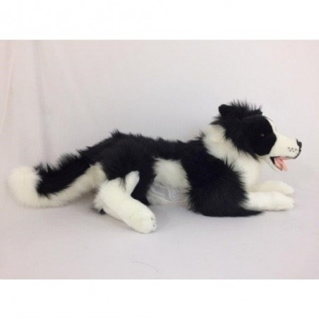 Border Collie Blitz with satin pocket.  $7.95 Postage