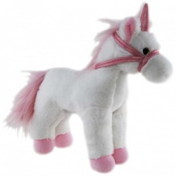 Unicorn White Standing Plush Stuffed toy by Elka
