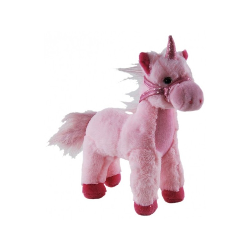 Unicorn White Standing Plush Stuffed toy by Elka