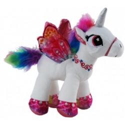 Unicorn White Plush Stuffed toy by Elka