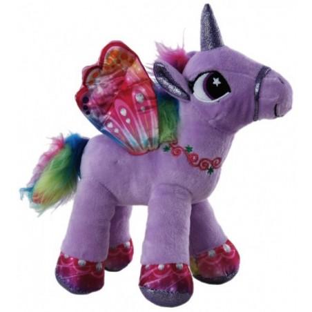 Unicorn Purple Plush Stuffed toy by Elka