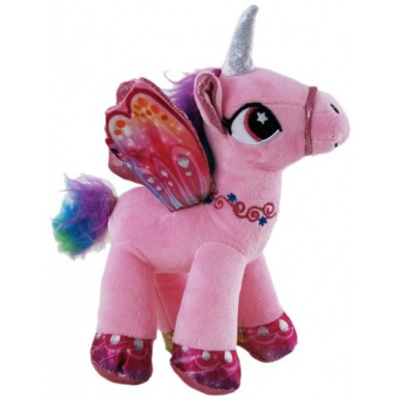 Unicorn Pink Plush Stuffed toy by Elka
