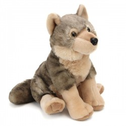 Wolf Plush Stuffed Toy 25cm  by Wild Republic