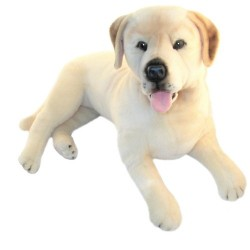 Yellow Labrador Bella with pocket stuffed plush toy by Bocchetta $7.95 Postage