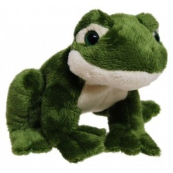 Frog with Croaking Noise Plush Toy 12cm by Elka Toys