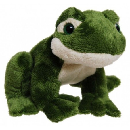 Frog with croaking sound Plush Toy 12cm by Elka Toys