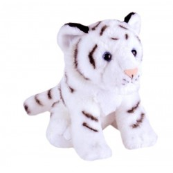 White Tiger Cub Plush Stuffed Toy by Wild Republic