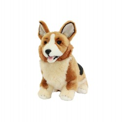 Corgi Windsor Plush Toy by Bocchetta Plush Toys