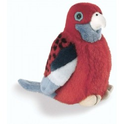 Crimson Rosella Plush Stuffed Toy by Wild Republic