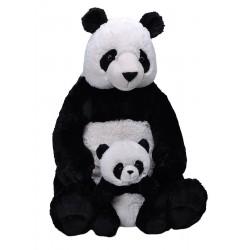 Panda Mum and Baby Jumbo Cuddlekins Extra Large Plush Toy by Wild Republic $7.95 Postage