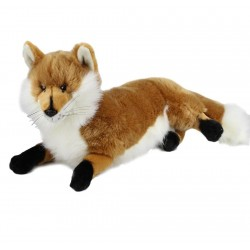 Fox Plush Toy Hunter by Bocchetta