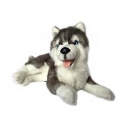 Siberian Husky Madison plush toy by Bocchetta Plush Toys