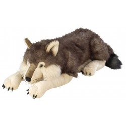 Jumbo Wolf Plush Stuffed...