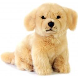 Golden Retriever Labrador Dog Chanel plush stuffed toy by Bocchetta Plush Toys