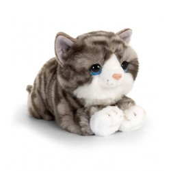 Cat Grey Tabby Plush...