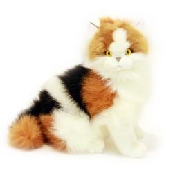 Calico Cat Alfio soft toy...