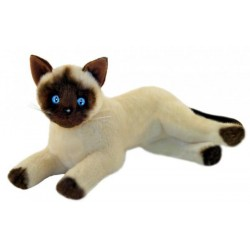 Siamese Cat Blossum soft toy by Bocchetta Plush Toys