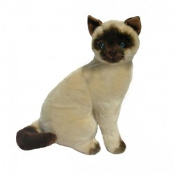 Siamese Cat Tulip soft toy by Bocchetta Plush Toys