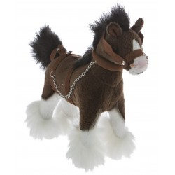 Clydesdale Horse Clyde plush toy by Bocchetta Plush Toys