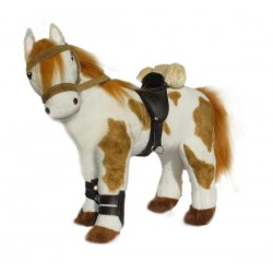 Pinto Horse Noble soft toy...