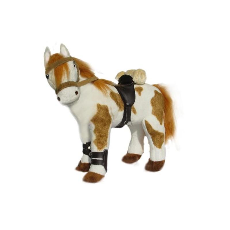 Pinto Horse Noble soft toy by Bocchetta Plush Toys