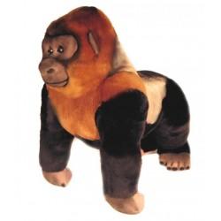 Silverback Gorilla Kong plush toy by Bocchetta Plush Toys