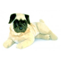 Pug Kaos plush toy by Bocchetta Plush Toys