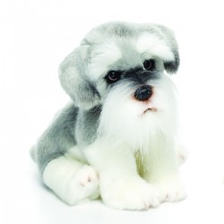 Schnauzer Small Plush Toy by Nat & Jules