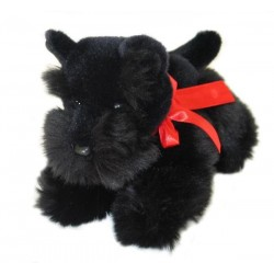 Scottish Terrier Haggis plush toy by Bocchetta Plush Toys
