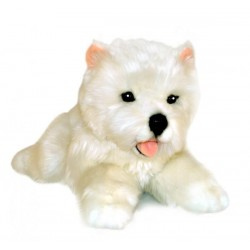 West Highland Terrier Pookie soft toy by Bocchetta Plush Toys