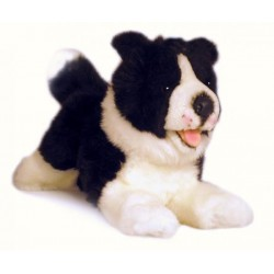 Border Collie Patch plush toy by Bocchetta Plush Toys